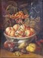 Manner of Giacomo Ceruti Still life studies of