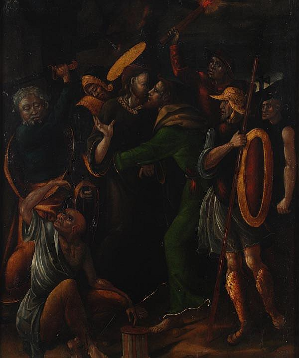 Spanish School (16th century) The betrayal of