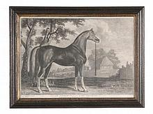 After George Stubbs (1724-1806) - An Arabian belonging to Lord Grosvenor