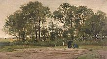 Théophile de Bock (1851-1904) - Potato Gatherers