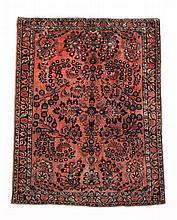 A Sarouk rug , approximately 150 x 100cm