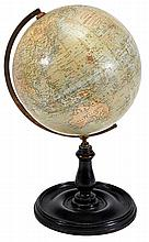 A nine inch terrestrial globe, George Philip and