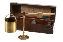 A rare Regency brass Chondrometer Dring and Fage, London