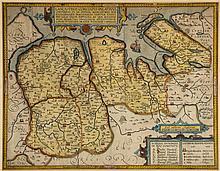 [?Smith (William)] - Lancastriae Comitatus Palatinus, Continens in se Oppida Mercatoria XVI,