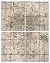 Stanford (Edward) - Stanford's Library Map of London and its Suburbs,