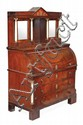 A French Philippe mahogany, alabaster and gilt