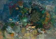 John Napper (1916-2001) Green Crab, 1960 oil on