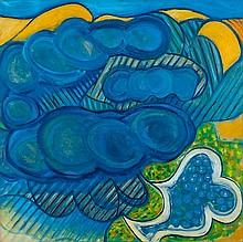 Ceri Richards (1903-1971) Jardin sous la Pluie,