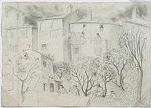 Christopher Wood (1901-30) Back Gardens, Nice