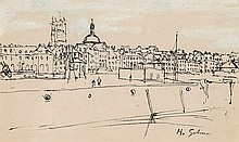 Harold Gilman (1876-1919) Untitled pen and ink