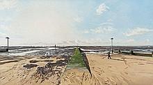 John Wonnacott (b.1940) Chalkwell Beach, Flood