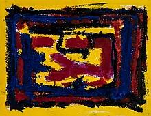 William Gear (1915-1997) Untitled, 1994 gouache on