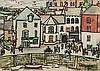 Bryan Ingham (1936 - 1997) Bustling sea port