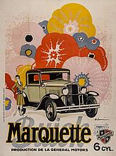 BARRERE, Adrien(1877-1931) - MARQUETTE, BUICK