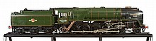 A fine exhibition quality model of the British Railways Standard Class 9F...