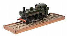 A 45mm gauge Live steam model of a Great Western 0-6-0 Pannier Tank...