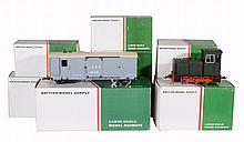 A collection of nine boxed BMS 'British Model Supply' Large scale model...