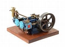 A Stuart Turner model 'Score' twin cylinder horizontal mill engine