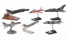 Aircraft models : a collection of six desk-top static models