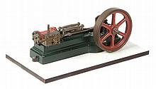 A model of a Stuart Turner S50 horizontal mill steam engine