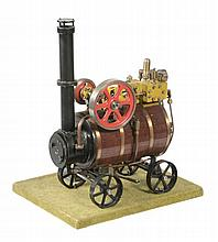 A well engineered scratch built model of a portable live steam engine