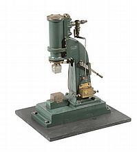 A well engineered model of a Stuart Turner steam hammer