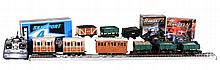 A collection of G Gauge Rolling stock and Accessories