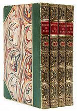 Süe (Eugene) - Les Mystéres de Paris, 4 vol., new