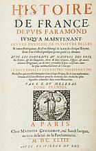 Mezeray (Francois Eudes de) - Histoire de France,