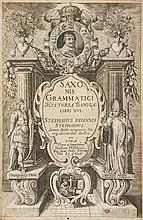 Saxo Grammaticus. - Historiae Danicae, 2 parts in