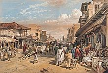 Simpson (William) - The Chilpore Road, Calcutta,