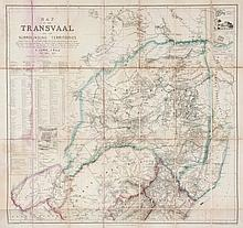 Jeppe (F.) - Map of the Transvaal and the