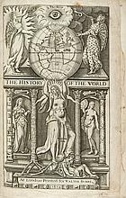 The Historie of the World in Five Bookes, initial