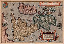 Ortelius (Abraham) - Angliae, Scotiae, et Hiberniae, sive Britannicar: Insularum descriptio,