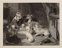 Landseer -  An album of rare proof plates , various states