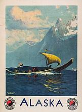 LAURENCE, Sydney  (1865-1940) - ALASKA, Northern Pacific