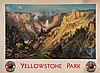 MORAN, Thomas (1837-1926) - YELLOWSTONE PARK, Northern Pacific, Thomas Moran, £200