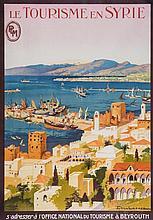 LACAZE, Julien (1886-1971) - LE TOURISME EN SYRIE, PLM