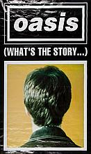 OASIS - Four original promotional posters for Oasis; poster promoting their