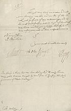 PEPYS, SAMUEL - Letter signed , to Colonel Robert Whiteley
