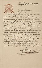 POPE PIUS X - Autograph letter whilst the future Pope was a cardinal, in Italian