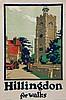 NEWBOULD, Frank, (1887-1951) - HILLINGDON for walks, Frank Newbould, £70
