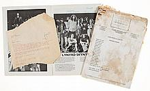 LYNYRD SKYNYRD - A collection of items relating to Lynyrd Skynyrd