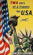 ANONYMOUS - TWA VERS ET A TRAVERS LES USA