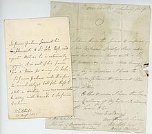 ROSS, JOHN - Autograph letter by Captain John Ross to the Governor and...