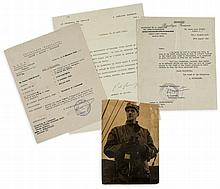 DE GAULLE, CHARLES - Typed letter signed to Jeanne Fyfe-Poulain