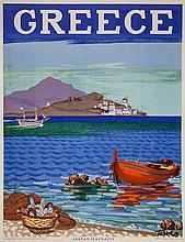 TETSIS, Panayiotis, 1925- - GREECE, Aegean Seacoasts