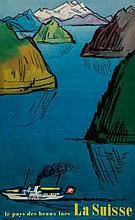 MONNERAT, Pierre (1917- ) - LA SUISSE