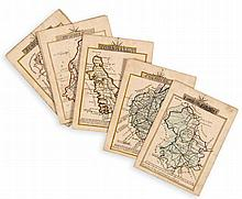 Manuscript. England.- - A set of 28 manuscript English county maps,