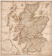 Jigsaw. Bowles (Carington) - Bowles's New One-sheet Map of Scotland laid down from the original Survey of James Dorret,